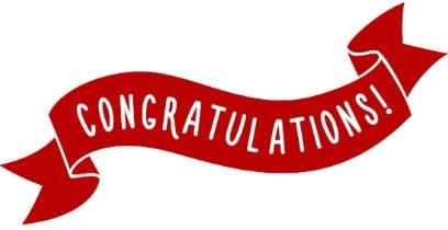 Congratulation TSG
